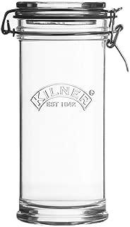 Kilner Signature Clip Top Glass Jar, 35-1/2-Fluid Ounces