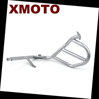 HTTMT A03- Motorcycle Saftey Upper Crash Bars Protection Compatible with Bmw R1200Gs 2004-2012
