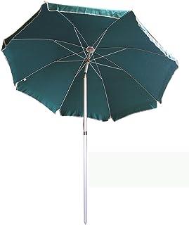 Umbrella medium duty 200cm diameter beach & industrial uae,color green