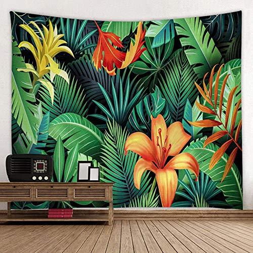 Tapiz Colgante de pared Toalla de playa Paño de mesa Estera de yoga Diseño floral para el hogar Rectángulo 150x200cm