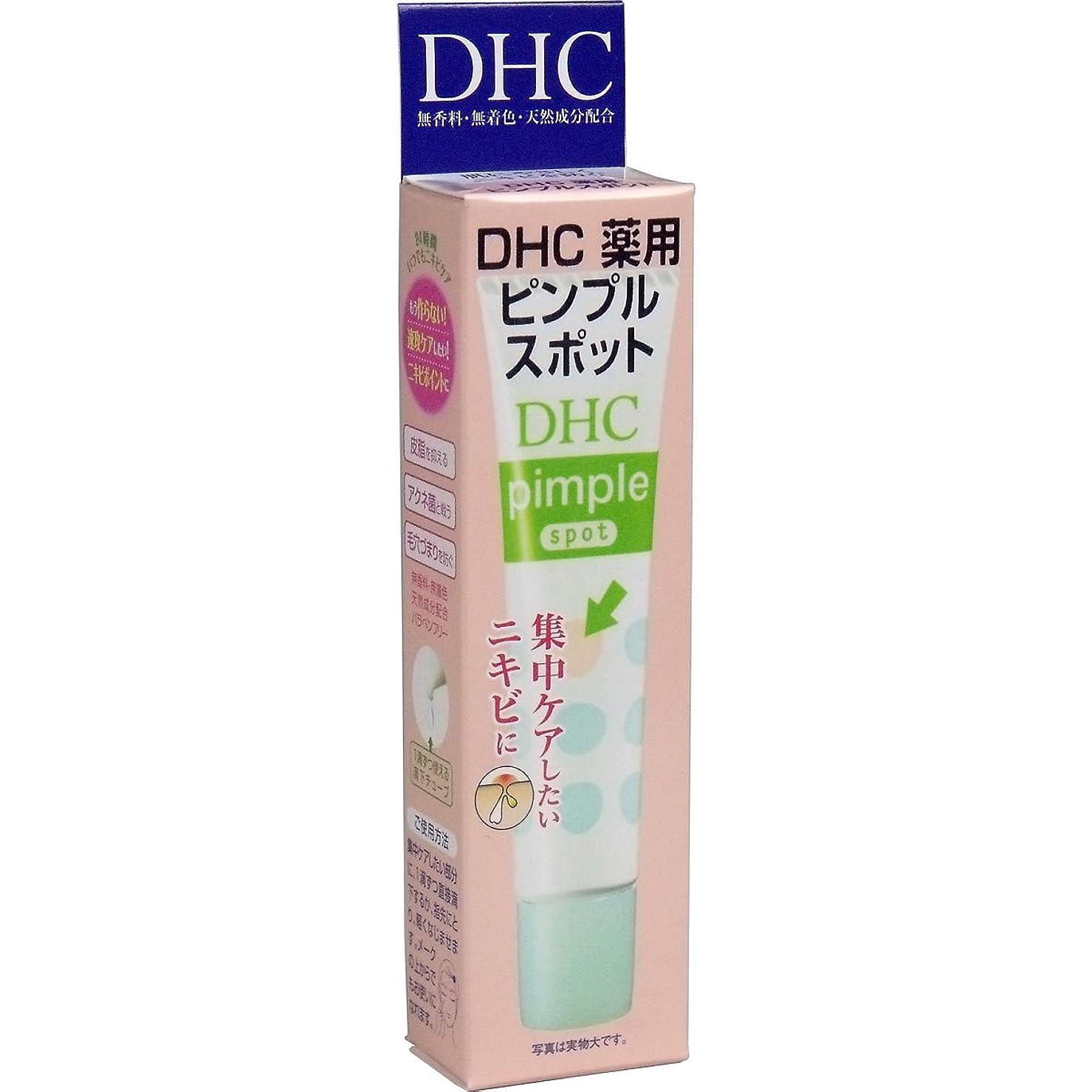 市町村通知するフロー【まとめ買い】DHC薬用ピンプルスポット 15ml ×2セット