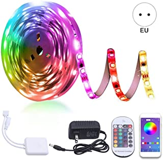 LncBoc LED N/éon Undercar Glow Lumi/ère 4Pcs 84 LED 8 couleurs RGB Ch/âssis de Voiture Lumi/ère Underglow Atmosph/ère D/écorative Bar avec Son Active et T/él/écommande sans Fil