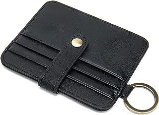 porta carte credito uomo portafoglio uomo con blocco RFID, porta carte di credito, portamonete, portafogli minimalista per...