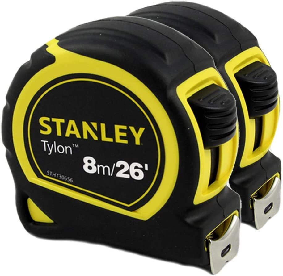 Stanley Tylon 8m 贈与 26' Contractor Grade OUTLET SALE Measuring Metr Nylon Tape