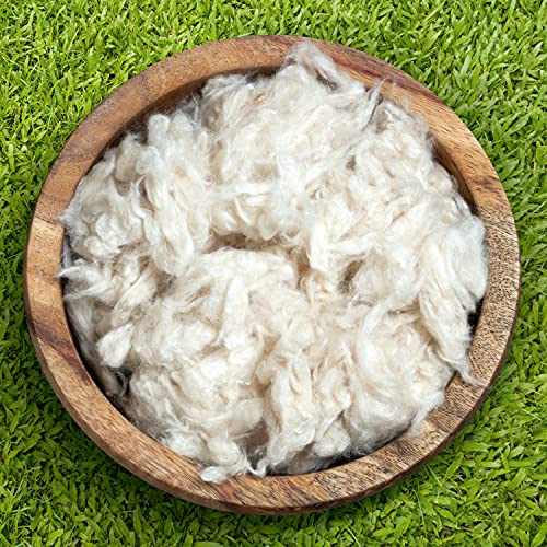 Bean Products Premium Kapok Fill | 20 lbs | 100% Organic Kapok Fiber | Chemical Free and Hypoallergenic | Perfect for Pillows, Pet Beds, Couches & More | Made in USA