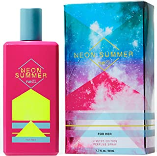Rue21 Neon Summer For Her (2016) Limited Edition Perfume Spray 1.7 Ounce