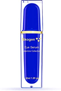 Skogen Premium Eye Cream Jasmine Collection Age Defying Formula, Instant Radiance, Reducing Puffiness, Dark Circles, Signs of Aging Like Wrinkles & Fine Lines, 30ml, 【Black Friday Deal -40%】