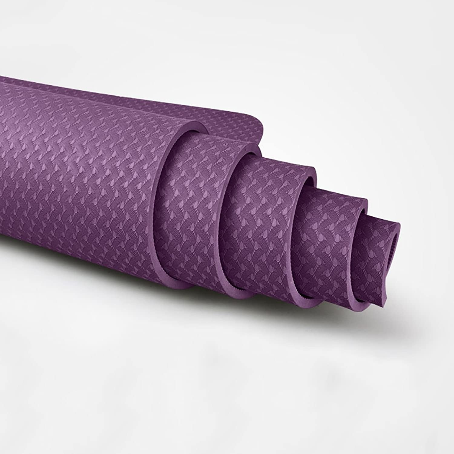 YONGLIANG Outdoor Supplies TPE Yoga Mat Female Beginners Authentic Thickened Tasteless AntiSkid Exercise Fitness Mat Yoga Mat