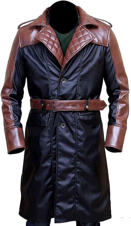Leather Finally resale start Coats for Men - Swedish Fur Jacket C Large discharge sale Faux Bomber
