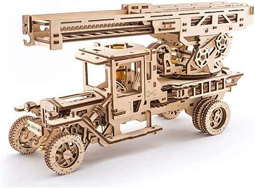 wholesape barato Rompecabezas mecánico 3D, Modelo de Madera, Madera, Madera, Juego de Manualidades para Auto-ensamblaje  de moda