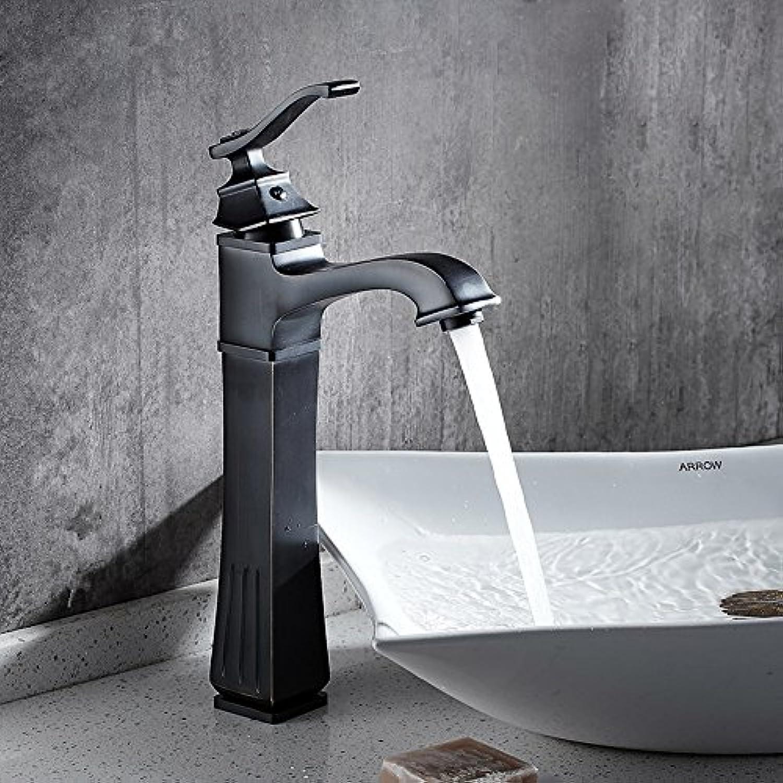 ETERNAL QUALITY Bathroom Sink Basin Tap Brass Mixer Tap Washroom Mixer Faucet Cold water faucet single hole basin faucet retro hot & cold water faucet minimalist basin mi