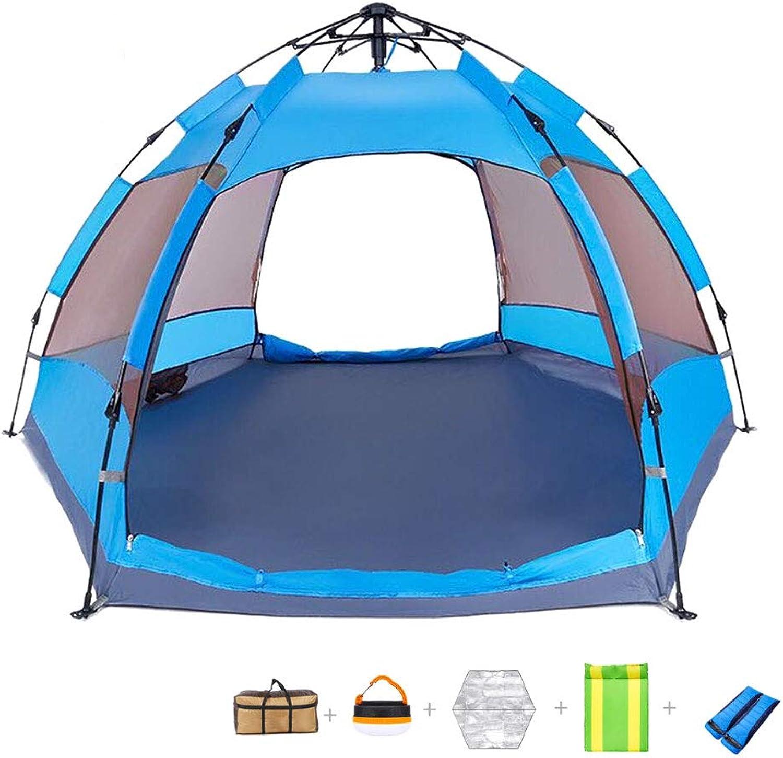 HAOHAOWU HAOHAOWU HAOHAOWU Campingzelt, 3-4 Personen Outdoor-Wanderzelt großer Raum dick wasserdicht und atmungsaktiv B07M8W2DYW  Nicht so teuer 46f37d