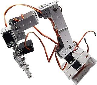 Electronic Toys Almencla DIY Robotic Arm Kit 6-Axis Servo Control