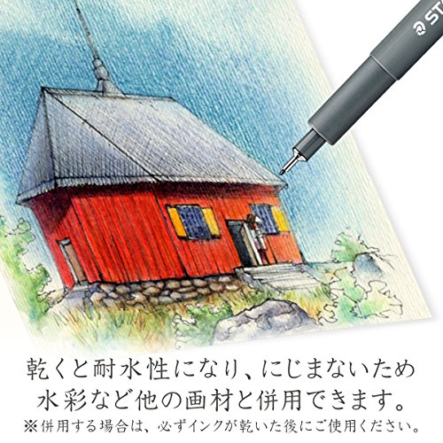 Staedtler Pigment Liner, 0.8mm, Black Ink (308-0.8)