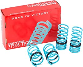 Godspeed LS-TS-SN-0001-A Traction-S Performance Lowering Springs, Reduce Body Roll, Improved Handling, Set of 4