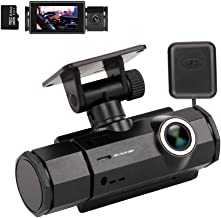 $59 » Sponsored Ad - Dash Cam with Night Vision, XQCK Car Dashboard Camera 1080P FHD Driving Recorder Wide Angle, GPS Track Play...