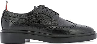 THOM BROWNE Luxury Fashion Womens FFO002G00198001 Black Lace-Up Shoes | Fall Winter 19