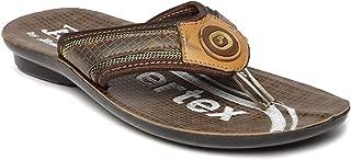PARAGON P-Toes Kid's Beige Flip-Flops