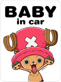 General sticker One Piece Tony Tony Chopper New World Ver. BABY in car sticker LCS-052 (japan import)