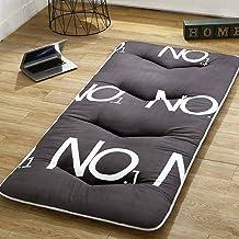 Futon Mattress, Japanese Floor Mattress, Thicken Tatami Mat Sleeping Pad Foldable Roll Up Mattress Dormitory Mattress Pad,...