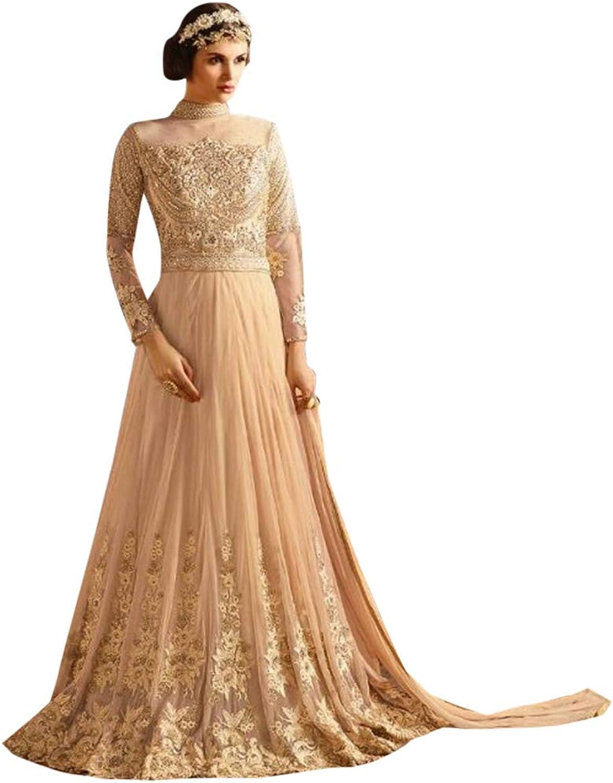 Festive collection Women Anarkali Salwar kameez Ethnic Designer Bollywood long dress 7204 5