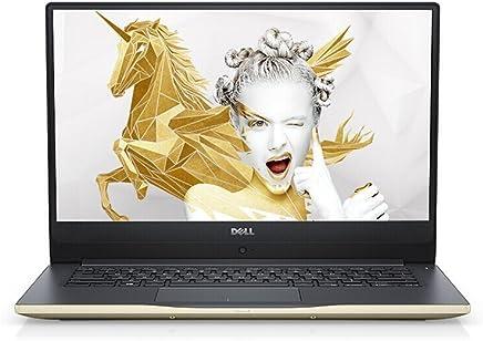 戴尔 DELL 灵越燃7000 II 7472-R1605G 14.0英寸轻薄窄边框笔记本电脑 (四核i5-8250U 8G 256G SSD IPS WIN10)金色