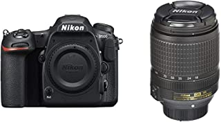 Nikon D500 DX-Format Digital SLR (Body Only) and 18-140mm f/3.5-5.6G ED Vibration Reduction Zoom Lens with Auto Focus for ...