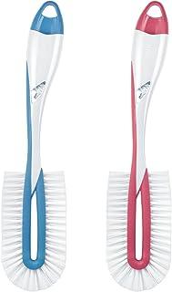 NUK 10256372 Twist - Cepillo para biberones para una limpieza profunda (1 unidad, incluye cepillo para tetinas), color no seleccionable