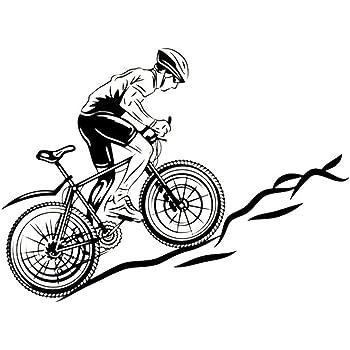Newin Star DIY Un hombre de papel bicicleta del montar a la pared ...