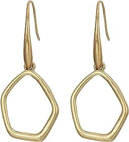 Open Drop Earrings