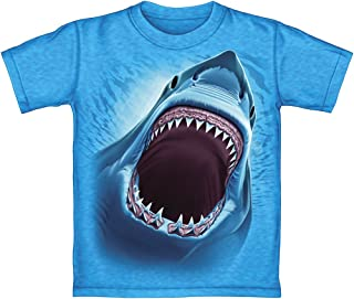 white shark t shirt