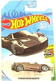 Hot Wheels 2018 50th Anniversary HW Exotics '17 Pagani Huayra Roadster 119/365, Silver