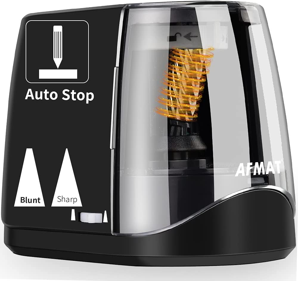 AFMAT New Free Shipping 70% OFF Outlet Pencil Sharpeners Electric Sharpener Sha Handheld