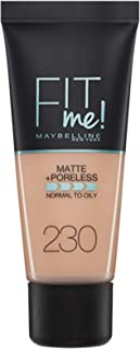 Fit Me Matte+Poreless Fond De Teint Tb 230 Nat