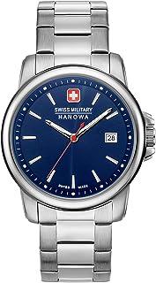 Swiss Military Hanowa - Reloj Analógico para Unisex Adultos de Cuarzo con Correa en Acero Inoxidable 06-5230.7.04.003