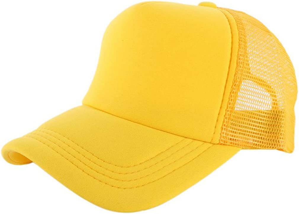 Elee Men 35% OFF Women Plain Trucker Very popular! Mesh Hat Baseball Snapback Ca Blank