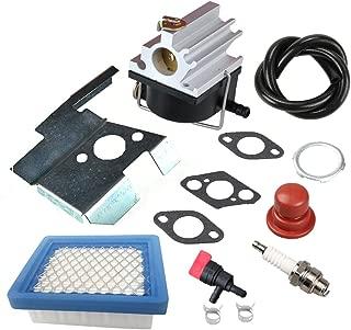 Panari 632671 Carburetor + Air Filter Spark Plug for Tecumseh 632671A 632671B 632671C VLV126 VLV60 VLV40 VLV50 VLV55 VLV65 VLV66 Toro Craftsman Lawn Mower