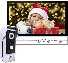 AMOCAM Wired Video Doorbell Intercom System, 9 Inches Monitor Video Doorbell Door Phone..