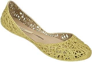 Melissa Shoes Women's Melissa Campana Zig Zag Gold Glitter 7 M US M