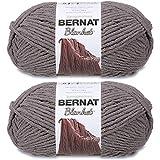 Bernat Blanket Big Ball Yarn (2-Pack) Dark Grey 161110-10044