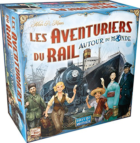 Days of Wonder Ticket to Ride - Rails and Sails Bambini Strategia