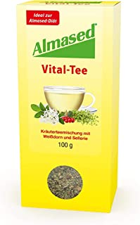 Almased Wellness Tea - Tea for Digestive Support with No Caffeine - Calm and Cleanse Your Body - 3.5 oz (100 g)