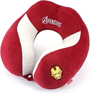 Travel Pillow U-Shaped Pillow Portable Travel Neck Pillow Flying Pillow Protection Shoulder Neck CQOZ (Color : Red)