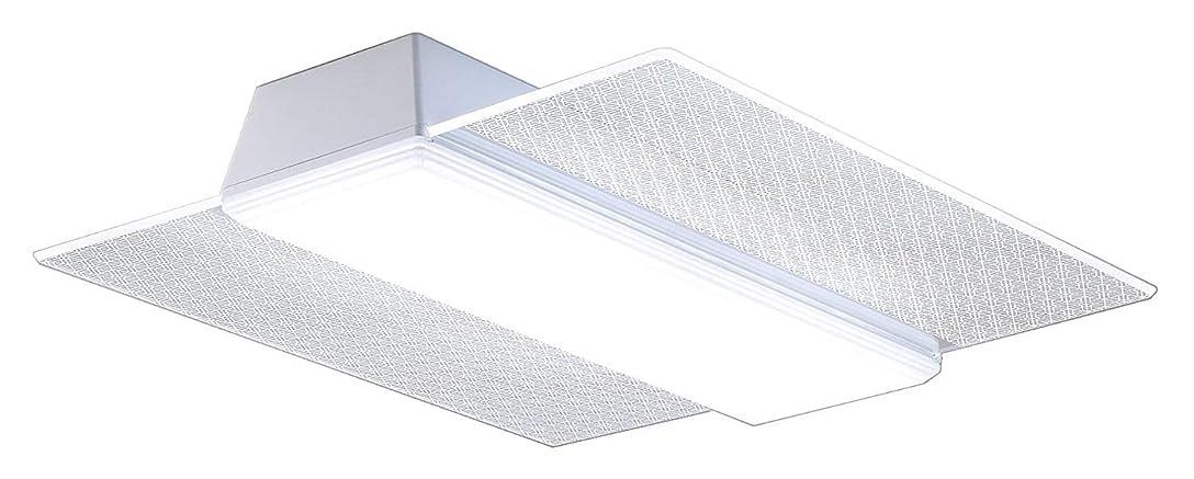 マージ旋回保有者パナソニック LEDシーリングライト 角型パネル 調光?調色タイプ 和紋様柄(胡麻) ~8畳 HH-CC0886A