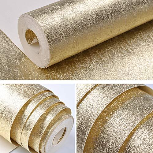 3D Tapete-Dreidimensionale Goldfolie Silber Gold Gold Tapete Zeichnung Pvc Tapete Schlafzimmer Wohnzimmer Küche Bad Tv Hintergrund-Wand Papier 53Cm X 10M/Roll E