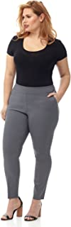 Curvy Woman Ease in to Comfort Skinny Plus Size Pant w/Tummy Control