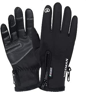 Winter Gloves Touchscreen Gloves Thicken Warm Gloves for Running Climbing Skiing Cycling Gloves - Men Women