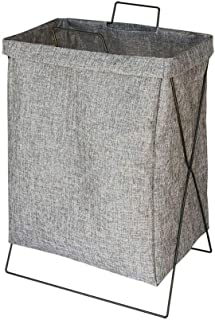 SHYPT Storage Basket Simple Bedroom Home Small Fresh Bedside Dirty Clothes Bag Laundry Bar Dirty Word Basket Folding (Colo...