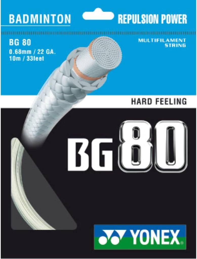 Yonex BG 80 String Badminton 2021 autumn and online shop winter new