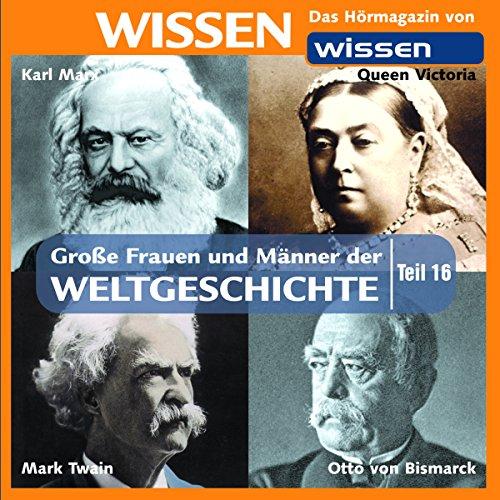 Große Frauen und Männer der Weltgeschichte 16 Titelbild